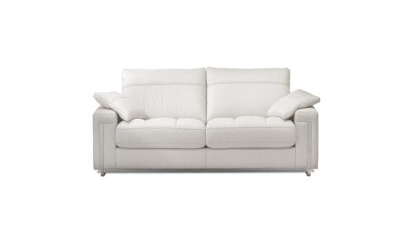 Galieri Aria 2 seat sofa white