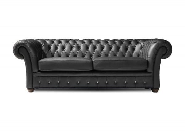 Cantata 2 seat wide chesterfield sofa with crystal buttoning