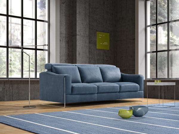 Galieri ECHO 3 seat 3 cushion sofa Side