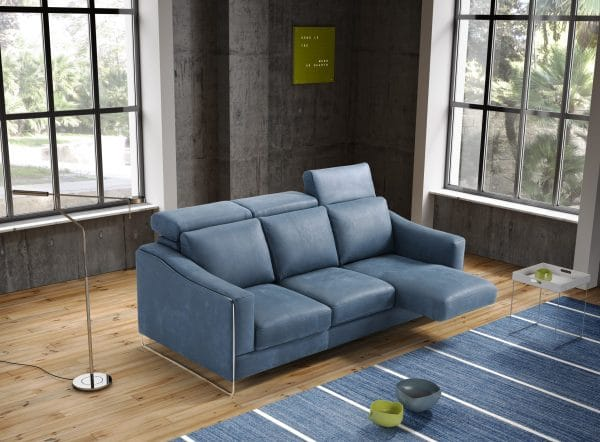 Galieri ECHO 3 seat 3 cushion sofa extended