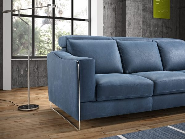 Galieri ECHO 3 seat 3 cushion sofa arm