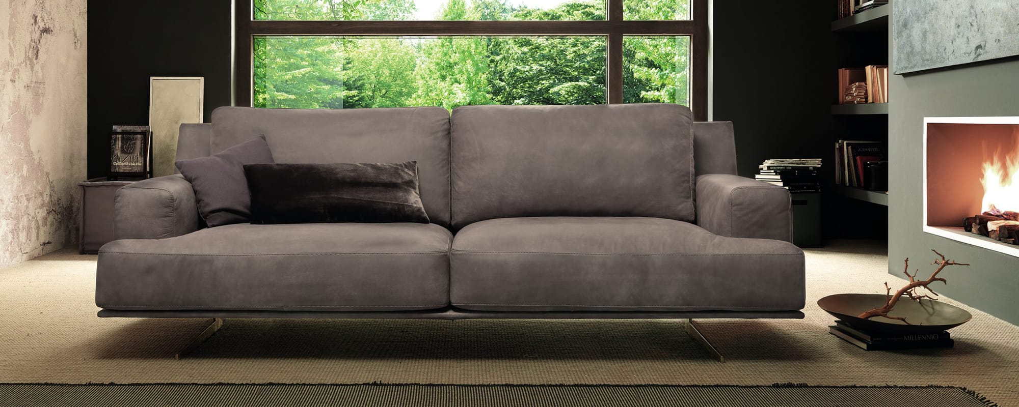 FORTE 3 Seat Wide Sofa