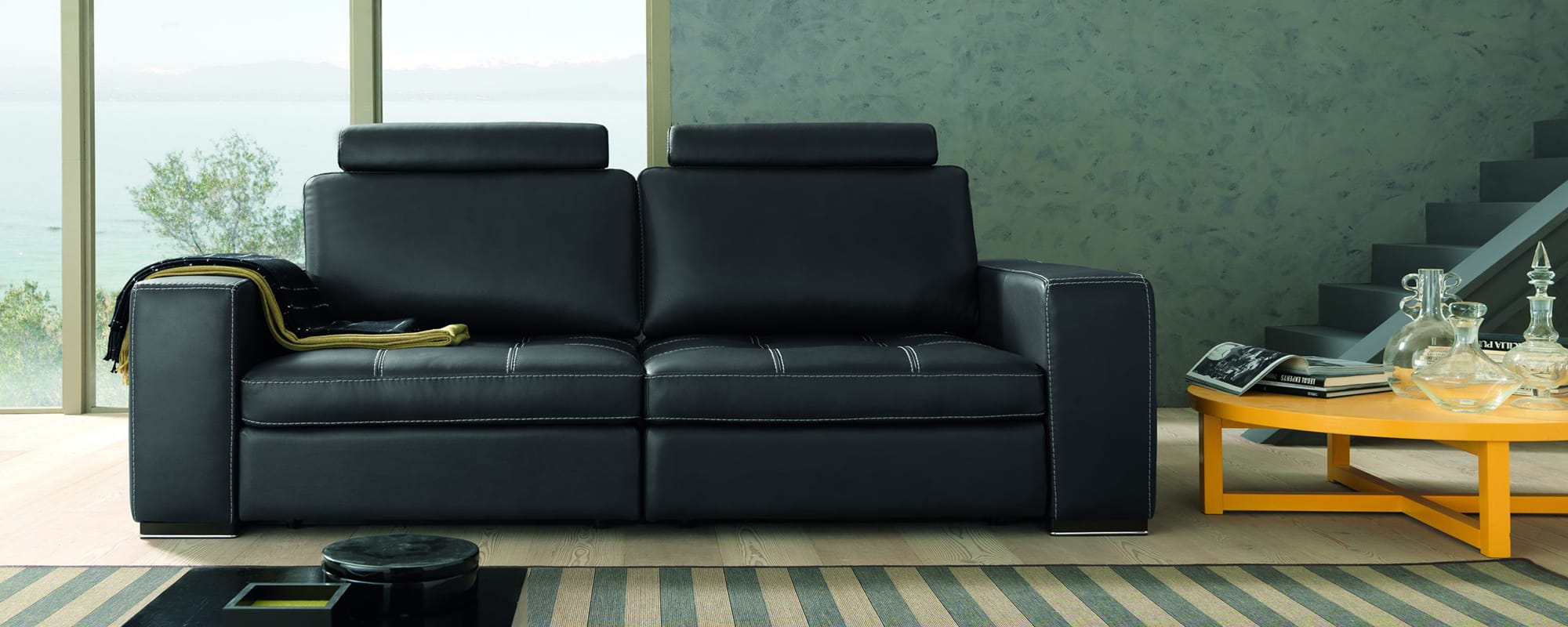 PASSION 3 Seat Sofa – Extendable
