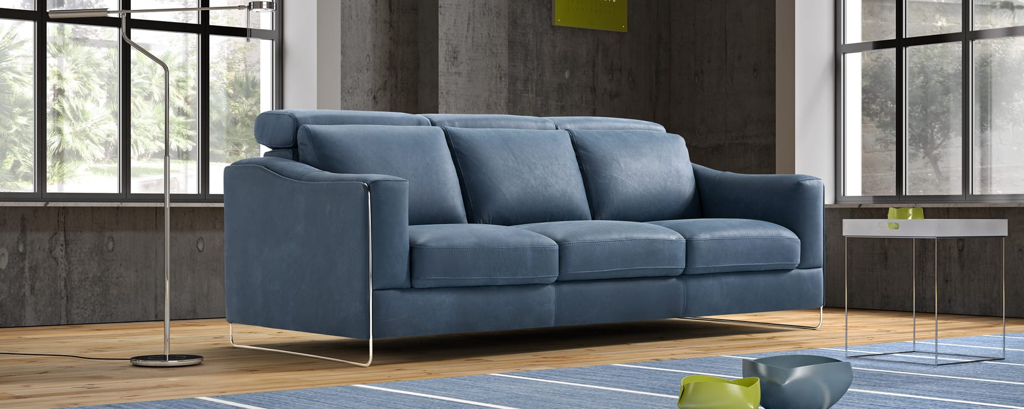 ECHO 3 Seat (3 Cushion) Sofa.
